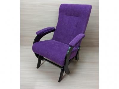 Кресло-качалка Аверс фиолетовый