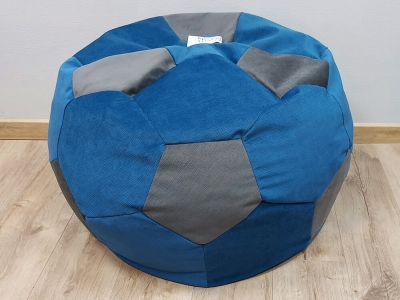Кресло-мешок Мяч M кат. 2 vital denim-vital grafit