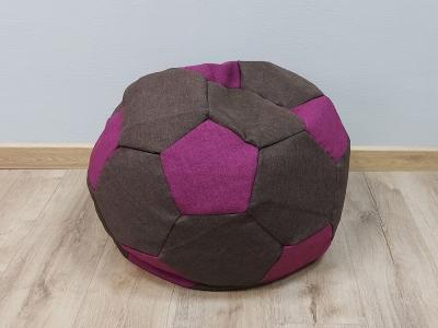 Кресло-мешок Мяч S кат.1 savana chocolate-savana berry