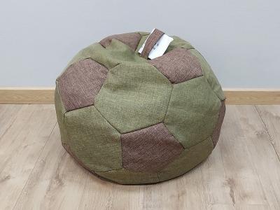 Кресло-мешок Мяч S кат. 1 savana green-savana hazel