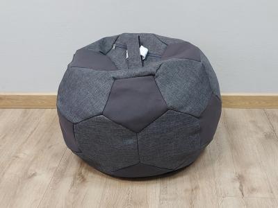 Кресло-мешок Мяч S кат.1 savana grey-neo grafit