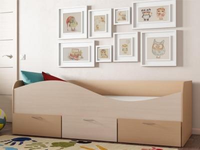 Кровать КР-3 с ящиками
