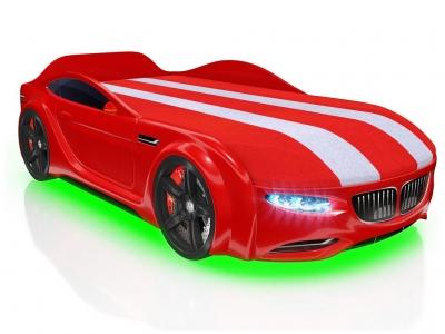Кровать-машинка Romack Junior X5 Красная