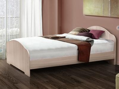 Кровать двойная на уголках №1 Матрица