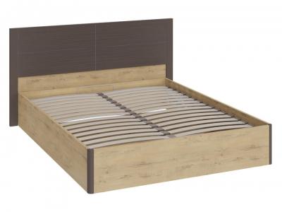 Кровать Николь с ПМ СМ-295.01.002 Бунратти, коричневый