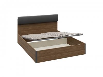 Кровать с ПМ Харрис тип 1 СМ-302.01.006 Дуб американский, Серебряный гранит