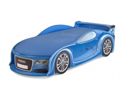Кровать-машина UNO А4 синяя