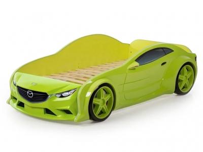 Кровать-машина Evo Мазда зеленая