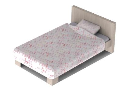 Кровать-1200 Патимейкер 13.02 820х1340х2100 с основанием