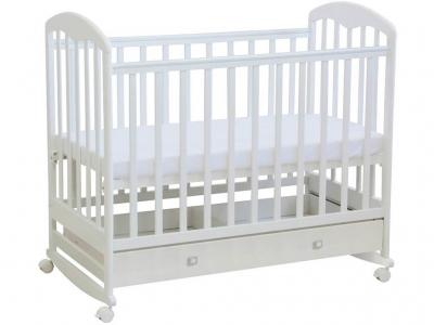 Кроватка детская Polini kids Simple 325, белый
