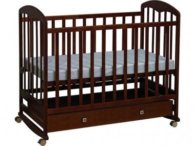 Кроватка детская Polini kids Simple 325, венге