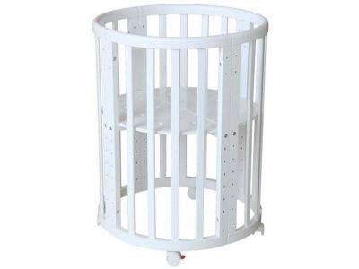 Кроватка детская Polini Kids Simple 911, белый