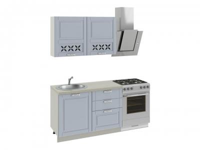 Кухонный гарнитур Скай Голубая 1,2м