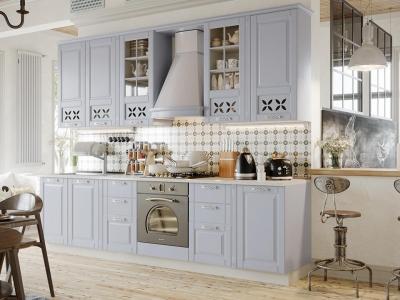 Кухонный гарнитур Скай Голубая 3,0м
