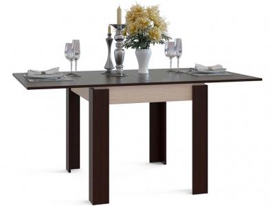Кухонный стол Сокол СО-2 Венге подстолье Беленый дуб
