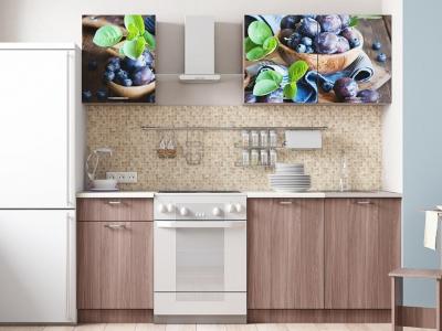 Кухонный гарнитур Легенда 15 Слива