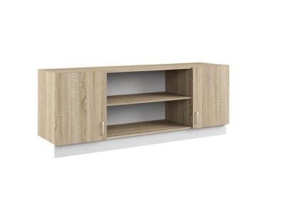 Шкаф навесной Линда 313 1484-1684x440х650 крепится только между двумя пеналами 314