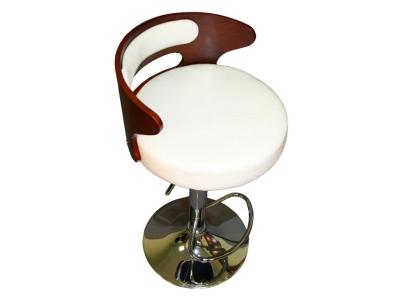 Барный стул Лого LMZ-1018 белый крокодил