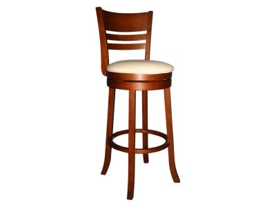 Барный крутящийся стул Лого LMU-9393 крем