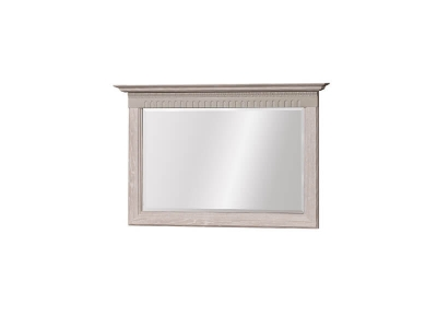 Зеркало Лючия 195 дуб оксфорд серый 900х600