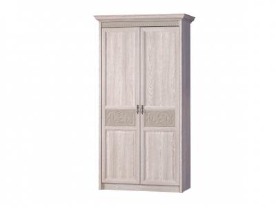 Шкаф 2-дверный Лючия 181 дуб оксфорд серый 1142х2262х540