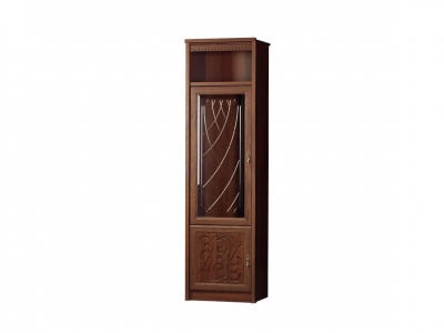 Шкаф для посуды Лючия 185 дуб оксфорд 603х2162х458
