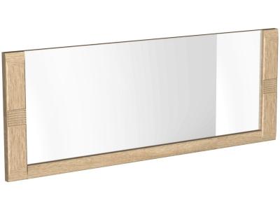 Зеркало малое Магнолия Дуб бардолино 1100х38х550