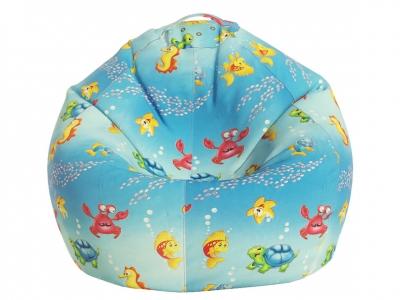 Кресло-мешок Малыш поплин Морская сказка