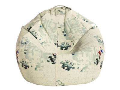 Кресло-мешок Малыш поплин Пазлы
