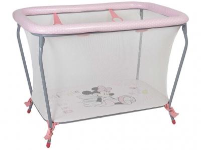 Манеж Polini kids Disney baby Classic, Минни Маус Фея, розовый