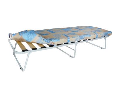Кровать раскладная Марфа-1 на ламелях с мягким матрасом