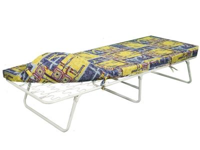 Кровать раскладная Марфа-2 на пружинной змейке с мягким матрасом