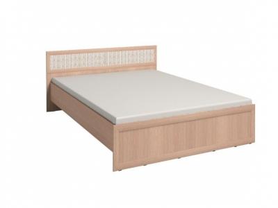 Кровать 2 с ортопедическим основанием Милана Дуб отбеленый 1570х2050х845
