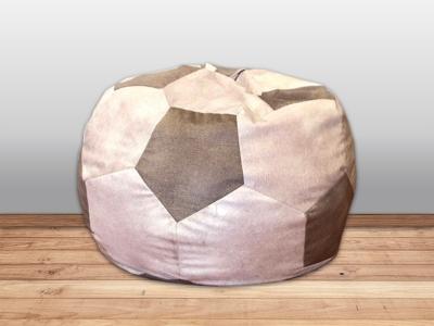 Кресло-мешок Мяч кат. 2 allure ivory/allure grey