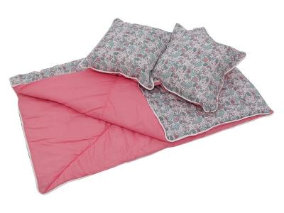 Одеяло и подушки для вигвама Polini kids Disney Последний богатырь, принцесса розовый