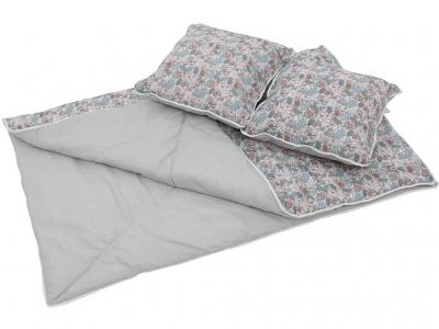 Одеяло и подушки для вигвама Polini kids Disney Последний богатырь, принцесса серый