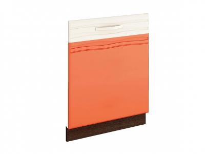 Панель для посудомоечной машины на 600 09.69 Оранж 600х820