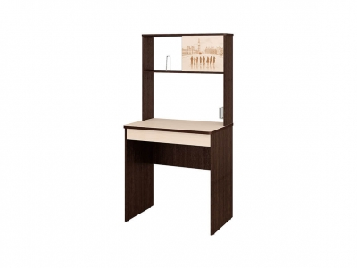 Стол компьютерный Орион-5.10 Венге - Дуб Кобург 800х700х1660