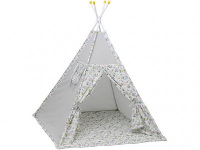 Палатка-вигвам детская Polini kids Disney Последний богатырь, лес серый