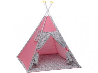 Палатка-вигвам детская Polini kids Disney Последний богатырь, принцесса розовый