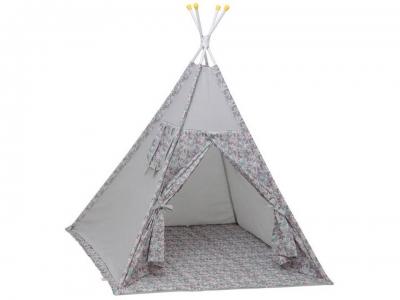 Палатка-вигвам детская Polini kids Disney Последний богатырь, принцесса серый