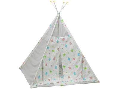 Палатка-вигвам детская Polini kids Монстрики, серый
