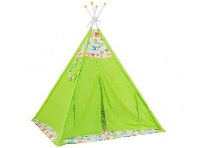 Палатка-вигвам детская Polini kids Жираф, зелёный