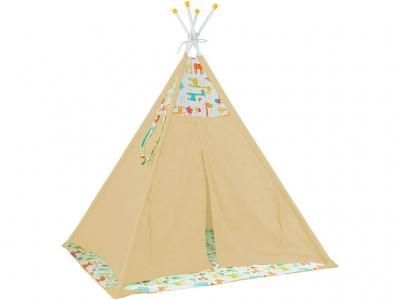 Палатка-вигвам детская Polini kids Жираф, жёлтый