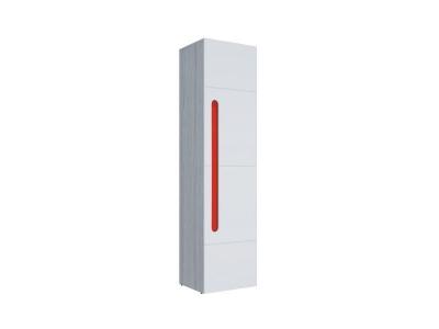 Пенал Палермо-Юниор красная вставка 536х2110х445мм