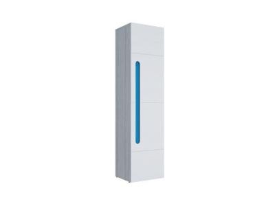Пенал Палермо-Юниор синяя вставка 536х2110х445мм