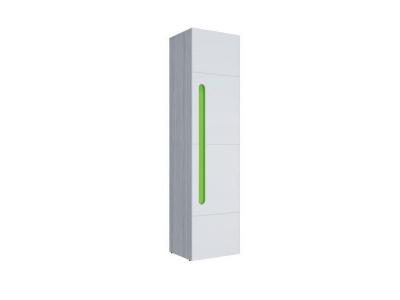 Пенал Палермо-Юниор зеленая вставка 536х2110х445мм