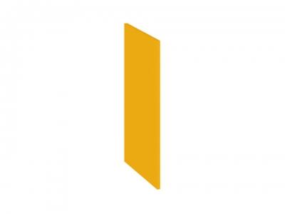 Панель боковая декоративная нижняя ПБд-Н(3)_72 Ассорти Лимон