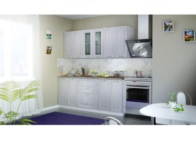 Кухня Патина серебро 1600