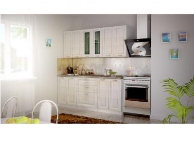 Кухня Патина золото 1600